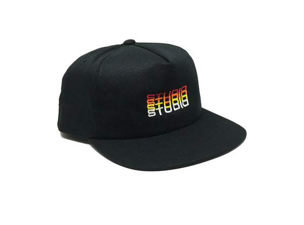 Fade - Unstructured Snapback - Black
