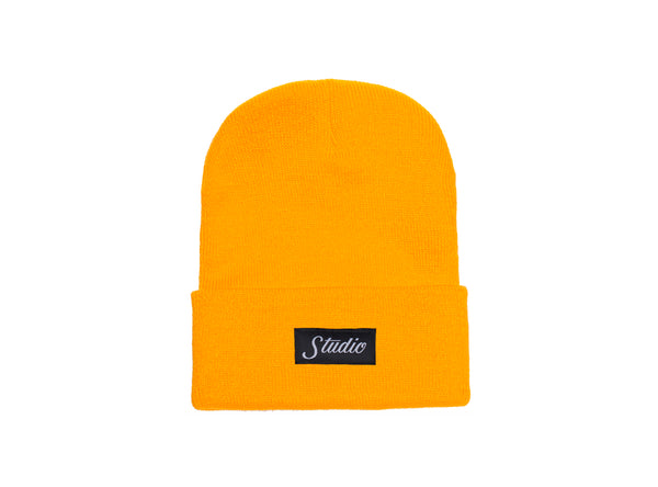 SOLD OUT - Small Script - Beanie - Gold