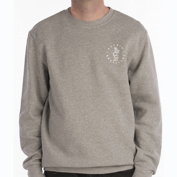 Studio for Bon Vivant Crewneck - Heather Grey