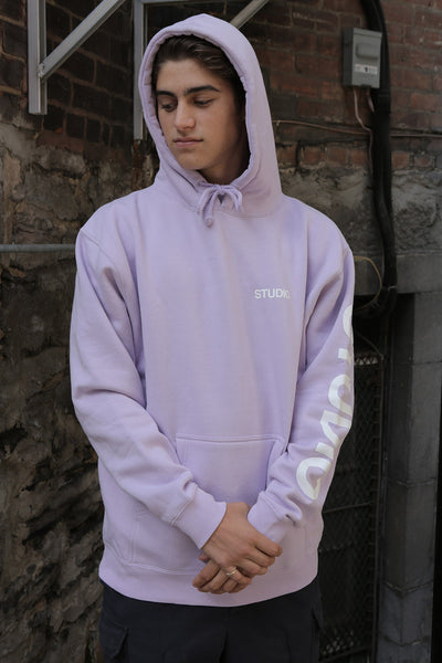 SOLD OUT - Sport Block Pullover Hoodie - Lavender