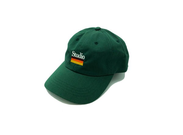 SOLD OUT - Mellow Stripes - Dad Hat - Forest