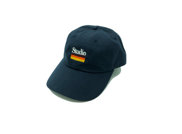 SOLD OUT - Mellow Stripes - Dad Hat - Navy