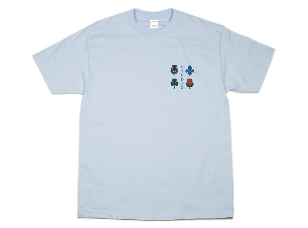 Coat of Arms - Tee - Powder Blue