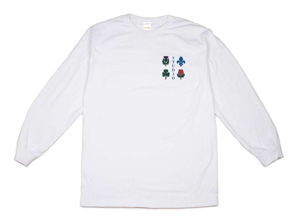 Coat of Arms - L/S - White - SOLD OUT