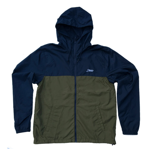 Windbreaker - Navy/Army