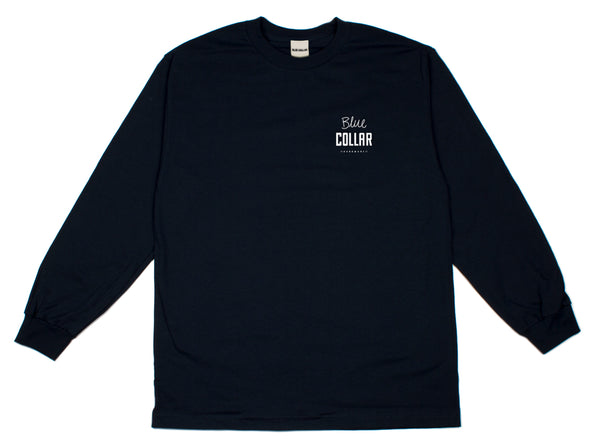 Blue Collar - OG Stack - L/S - Navy