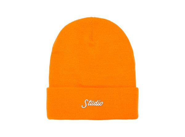 Small Script - Beanie - Orange - SOLD OUT