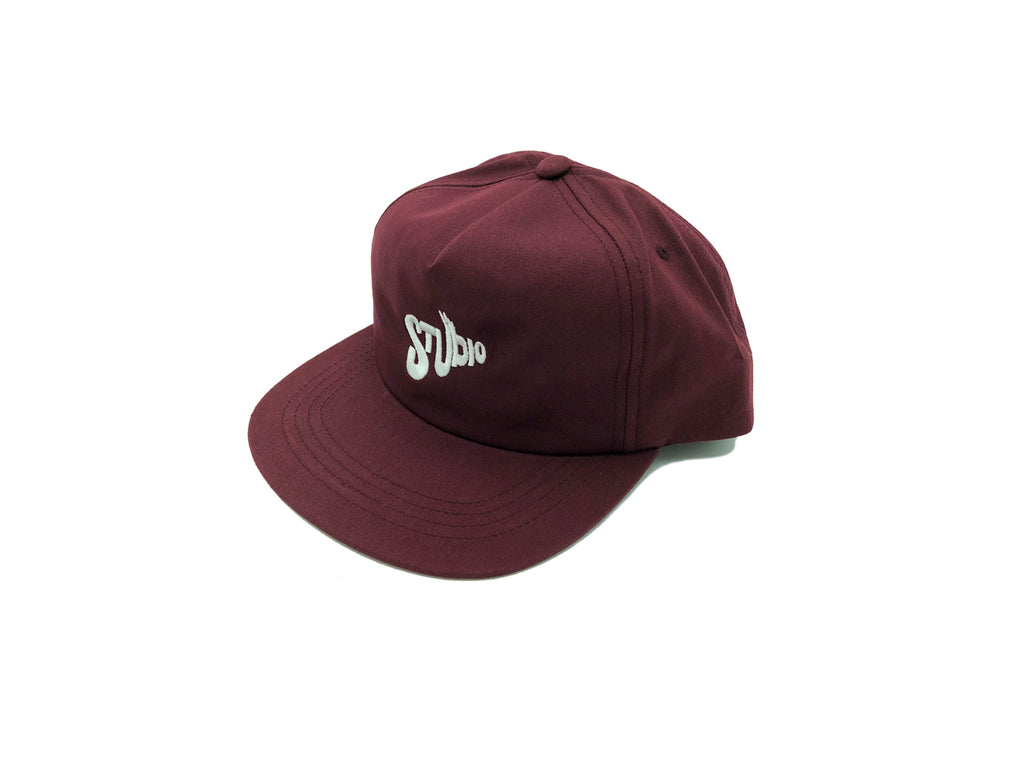 SOLD OUT - Peace - Snapback - Burgundy