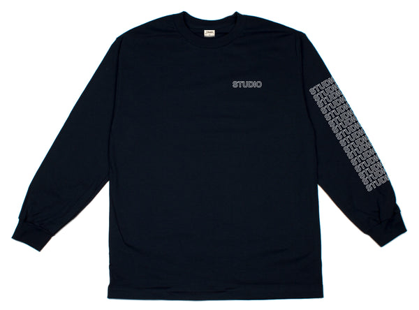 SOLD OUT - Sport Block - Longsleeve - Navy