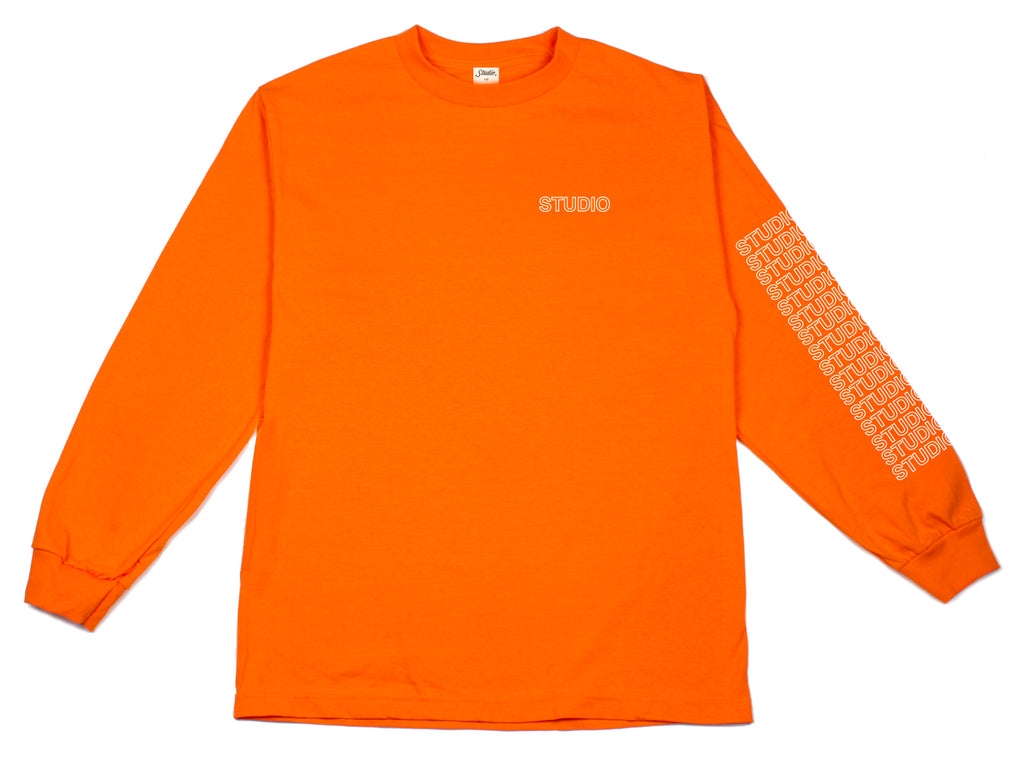 SOLD OUT - Sport Block - Longsleeve - Orange