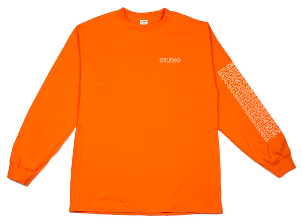 Sport Block - Longsleeve - Orange