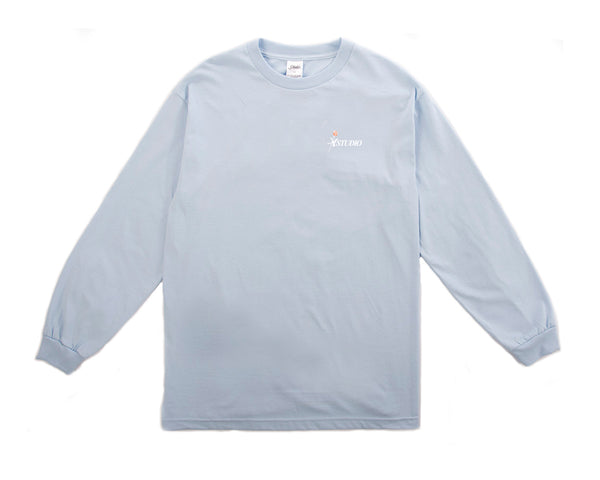 SOLD OUT - Rose Longsleeve - Powder Blue