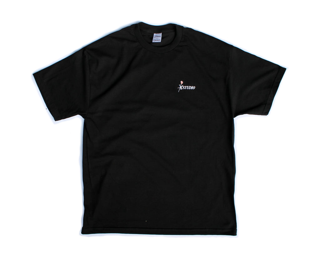 SOLD OUT - Rose Tee - Black