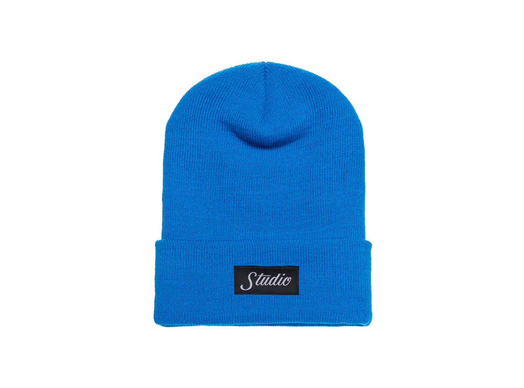 SOLD OUT - Small Script - Beanie - Royal