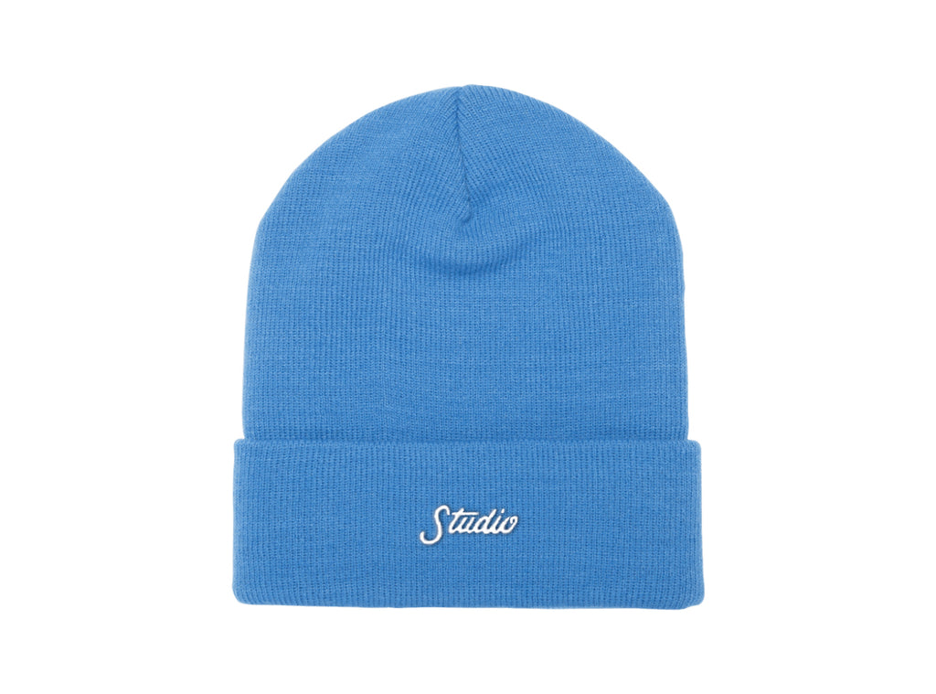 Small Script - Beanie - Sky Blue - SOLD OUT