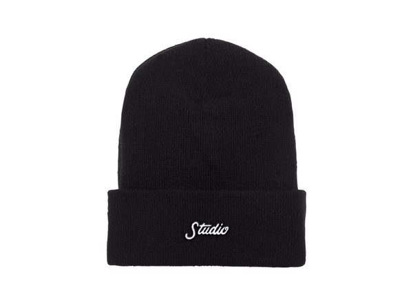 Small Script - Beanie - Black - SOLD OUT