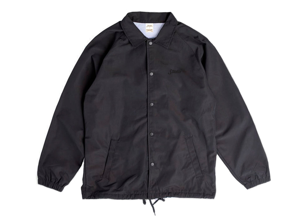 SOLD OUT - Small Script - Coach Jacket - Black