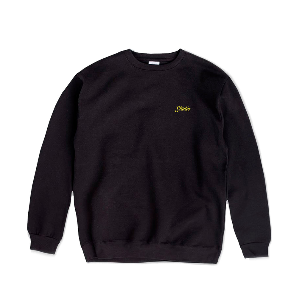 SOLD OUT - Small Script - Crewneck - Black
