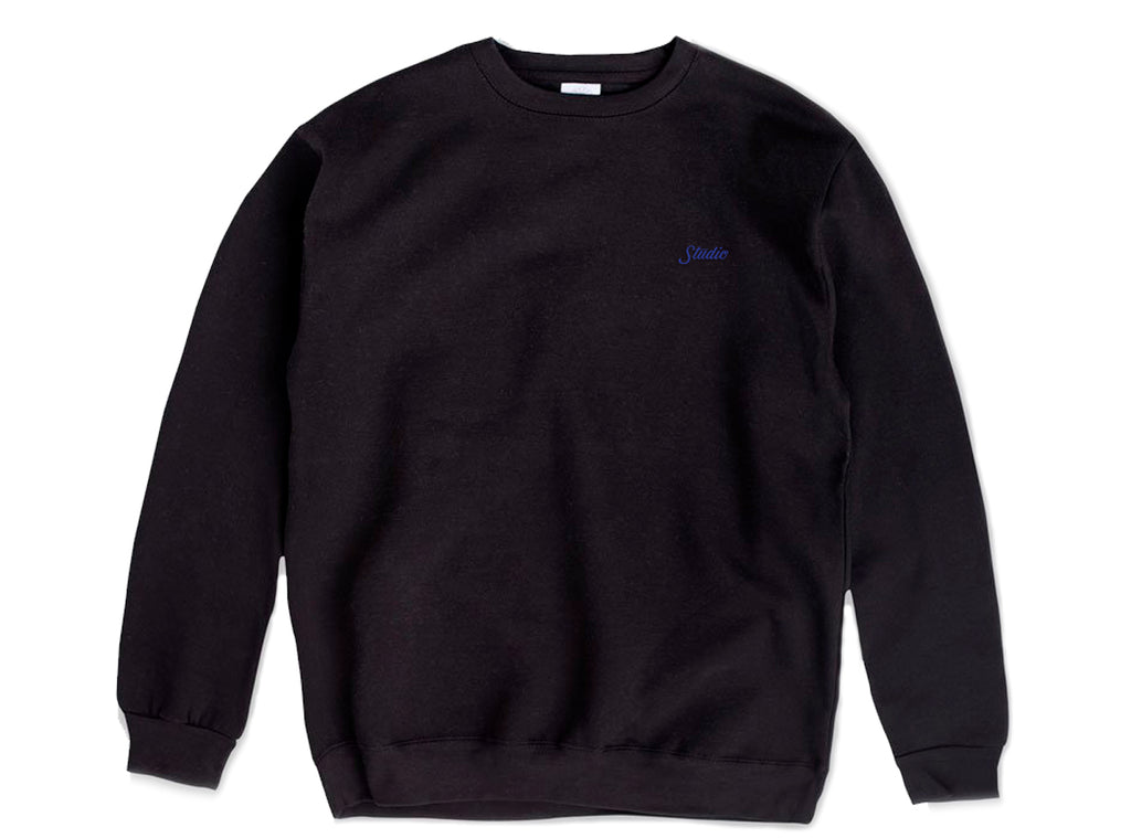 Small Script - Crewneck - Black - SOLD OUT
