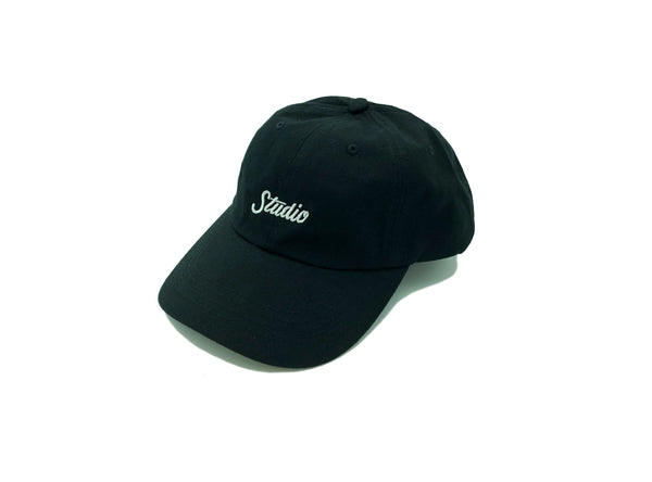 SOLD OUT - Small Script - Dad Hat - Black