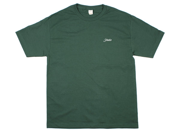 Small Script - Tee - Forest
