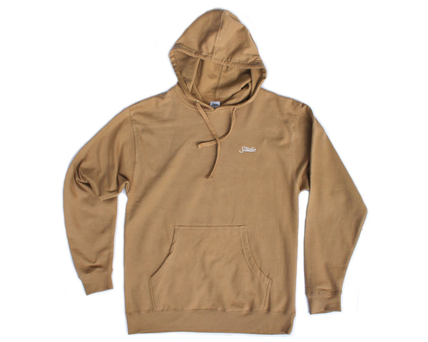 SOLD OUT - Small Script Hoodie - Tan