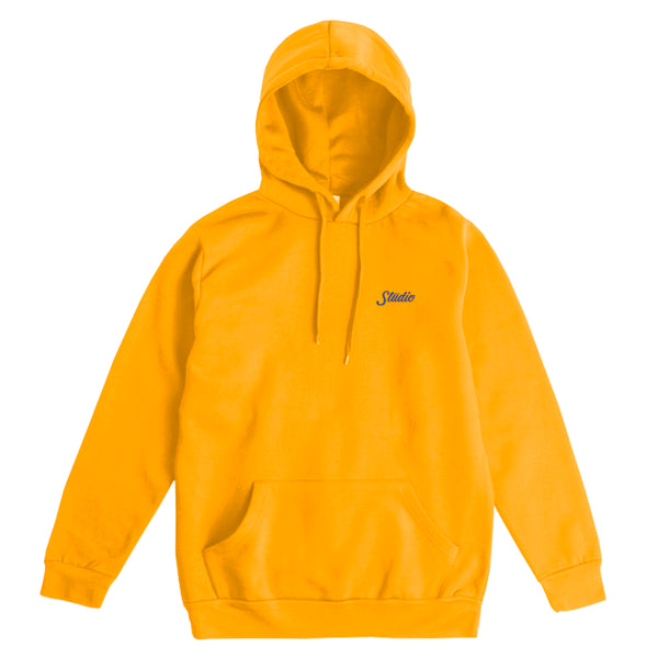 Small Script - Hoodie - Gold
