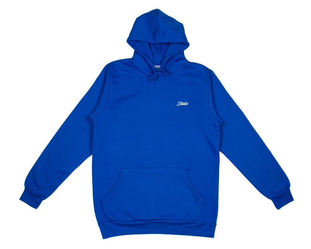 SOLD OUT - Small Script - Hoodie - Royal Blue