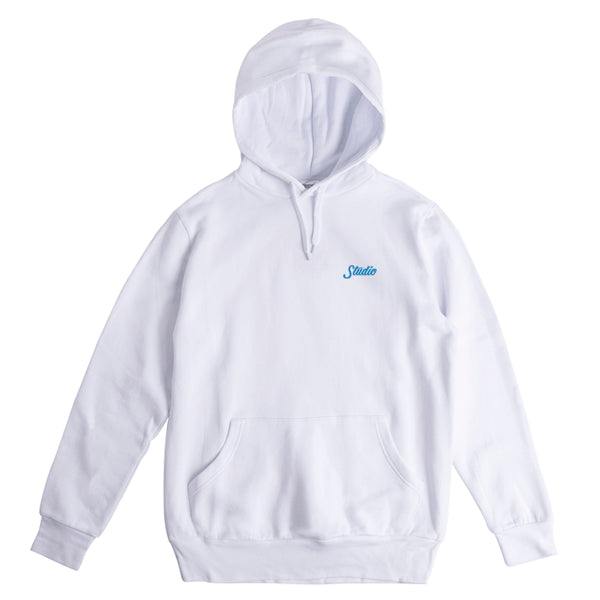 Small Script - Hoodie - White