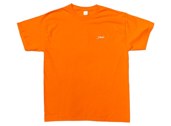 Small Script - Tee - Orange
