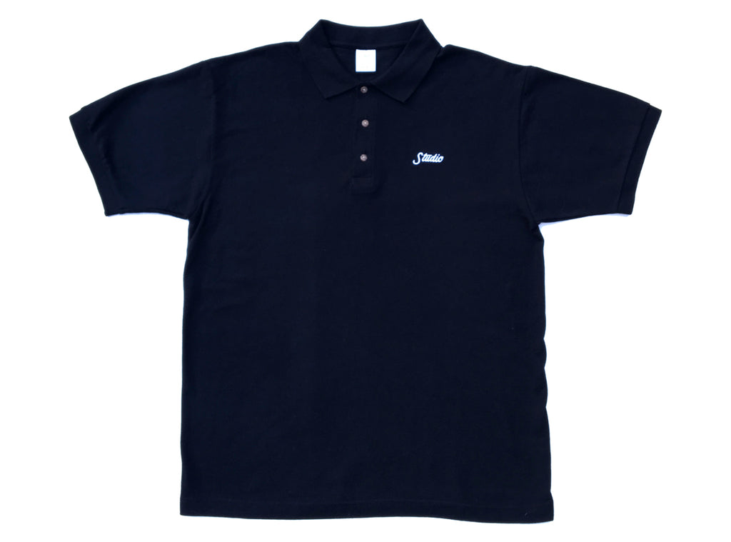Small Script - Polo - Black -SOLD OUT