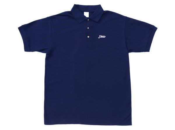Small Script - Polo - Navy - SOLD OUT
