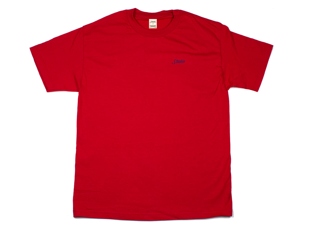 SOLD OUT - Small Script - Tee - Red
