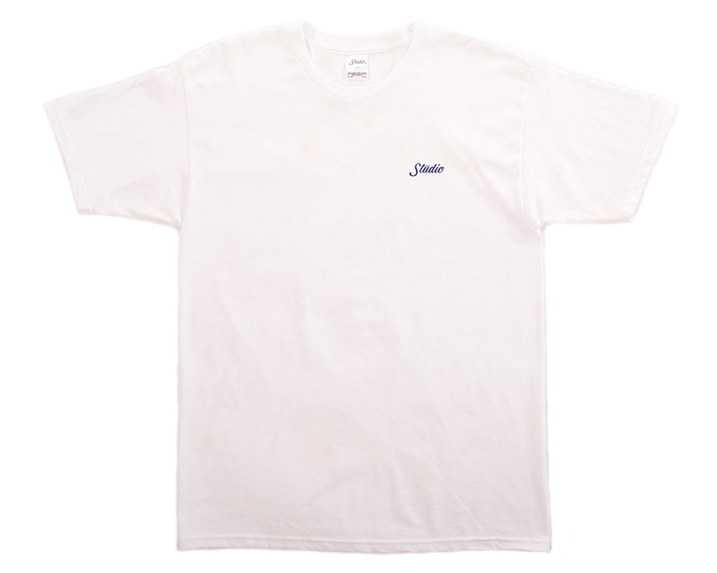 SOLD OUT - Small Script - Tee - White