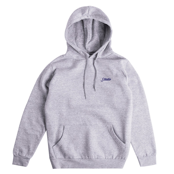 SOLD OUT - Small Script - Pullover - Heather Grey