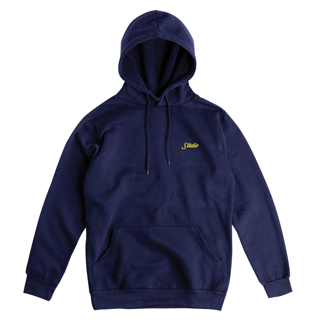 SOLD OUT - Small Script - Pullover - Navy