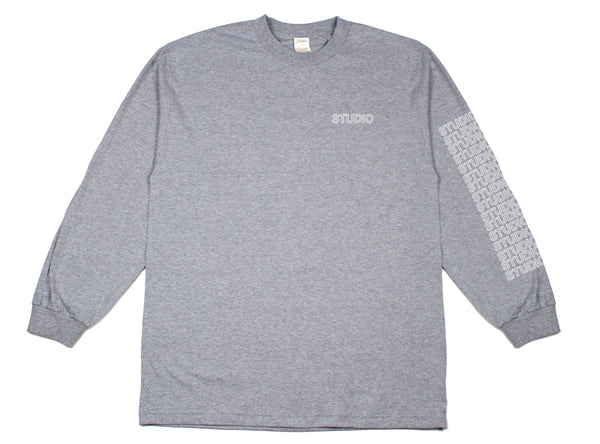 Sport Block - L/S - Heather Grey - SOLD OUT