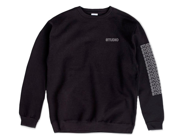 Sport Block - Crewneck - Black