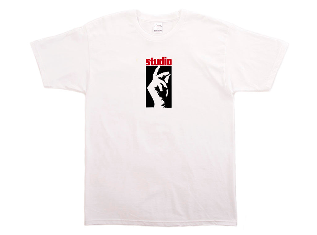 SOLD OUT - Studio Stax - Tee - White