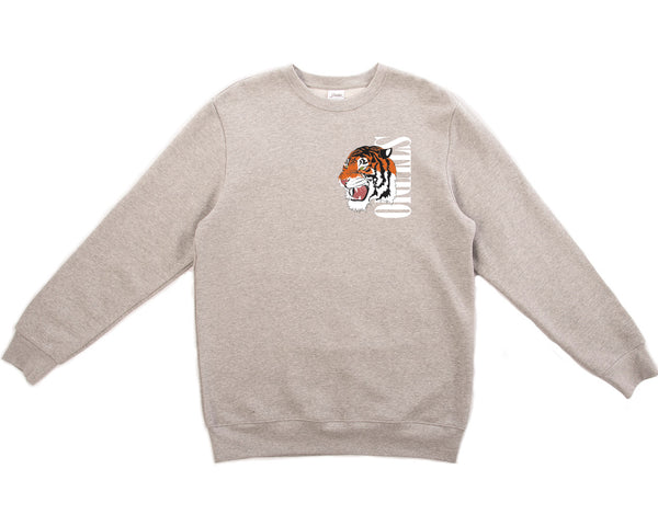 Tiger - Crewneck - Heather Grey