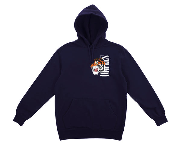 SOLD OUT - Tiger - Hoodie - Navy