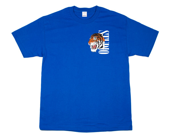 SOLD OUT - Tiger - Tee - Royal Blue