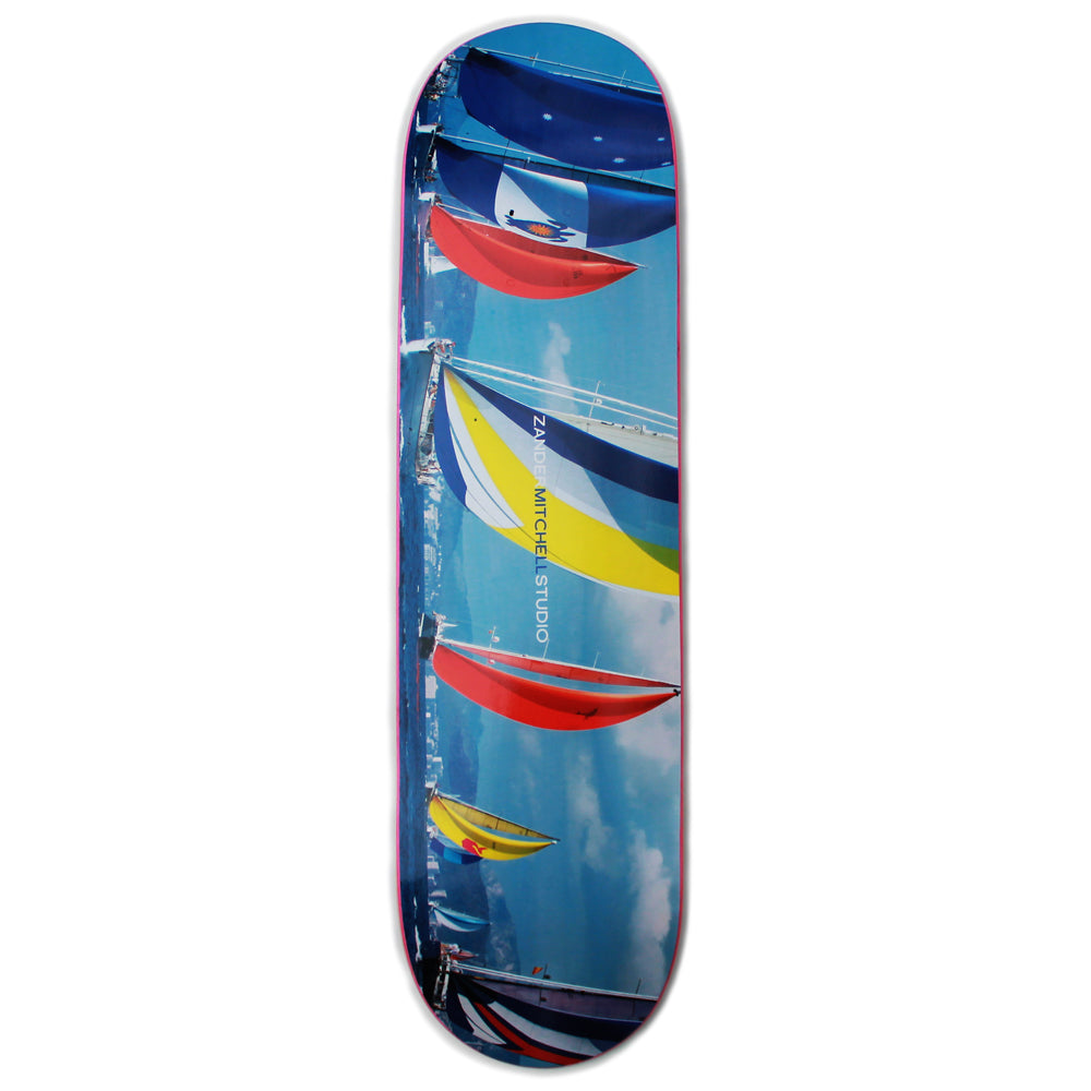 SOLD OUT- Zander Mitchell - Sailboats - Skateboard