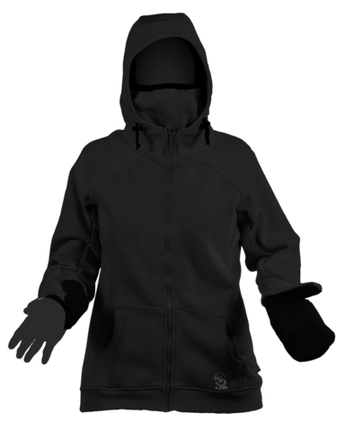 Women's Morph Zip-up Hoodie