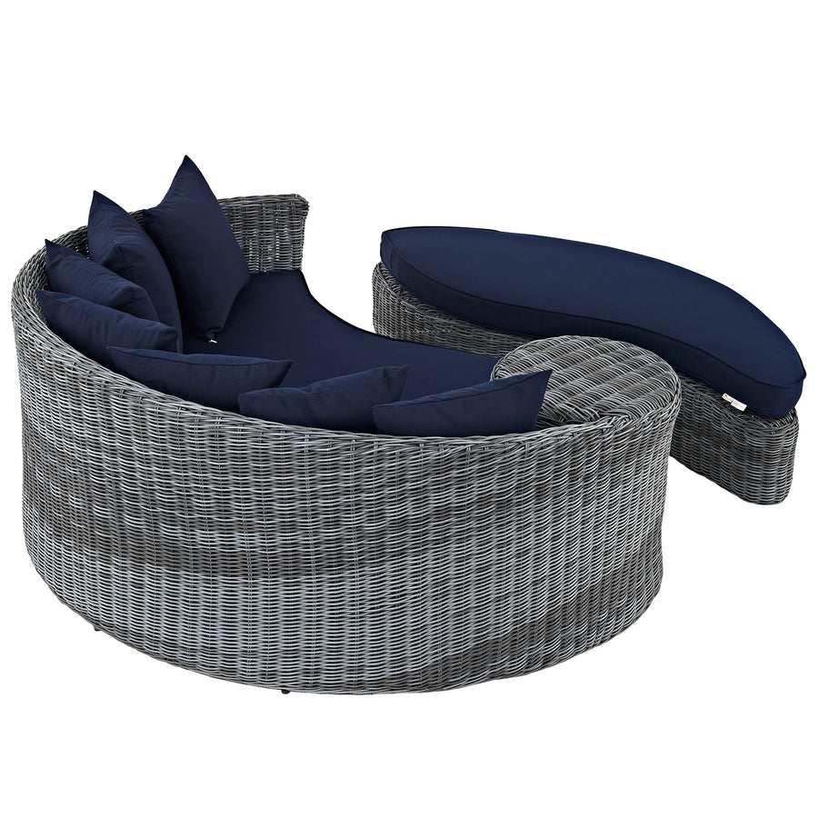 Summon Outdoor Patio Sunbrella® Daybed