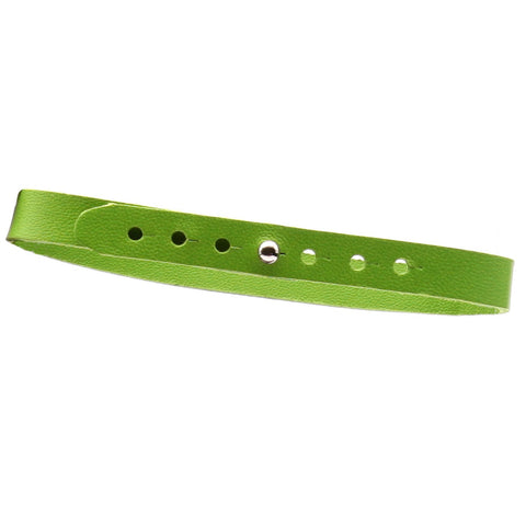 Anklets slim - Lizard Green