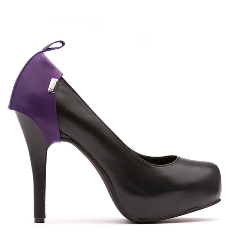 Shanks Heel Caps Deep Purple