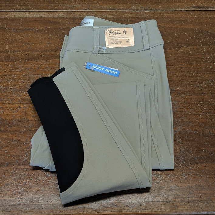 Tailored Sportsman - Ladies Boot Sock Trophy Hunter Breech - Quail Hollow Tack