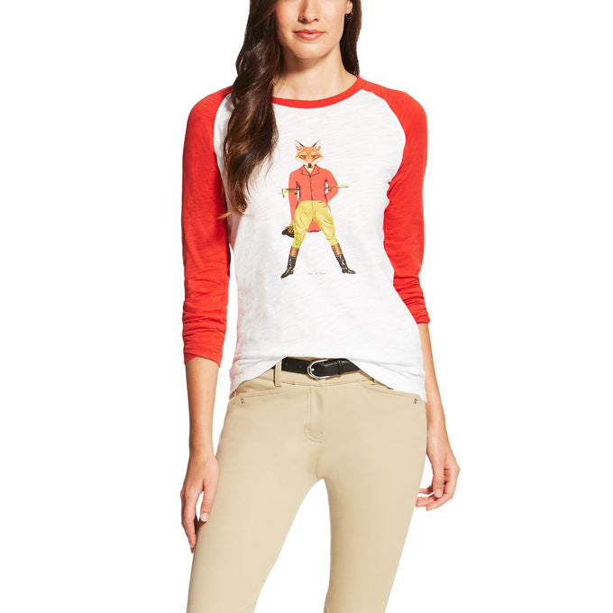 Ariat Fox As Hunter Graphic Tee