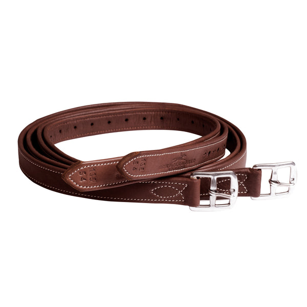 Schockemohle - Chantilly Stirrup Leathers - Oak - Quail Hollow Tack
